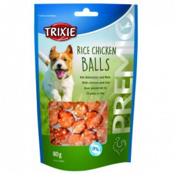 Snacks gedroogd - Premio Rice Chicken Balls