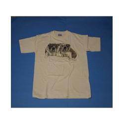 Engelse Bulldog T-shirt wit...
