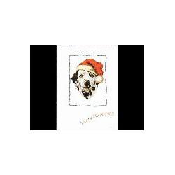 Dalmatische Hond Kerst...