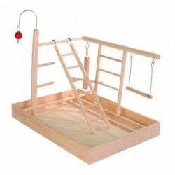 Speelplaatsen - Houten speelplaats