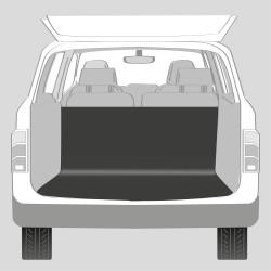 Autokleed kofferbak zwart