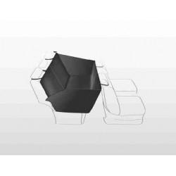 Autokleed achterbank zwart