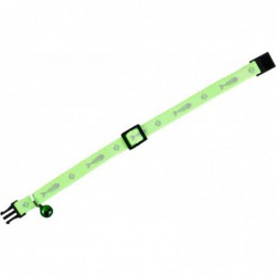 Kattenhalsband Ziggi groen