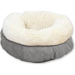 AFP lambswool donut bed grijs